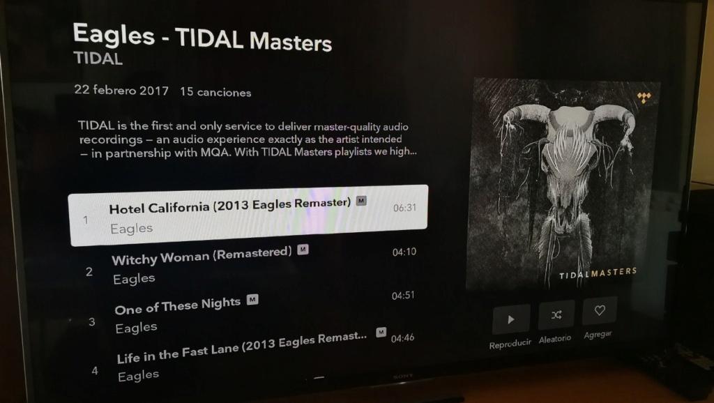 Tidal en calidad Máster en plataformas móviles... 2625c310