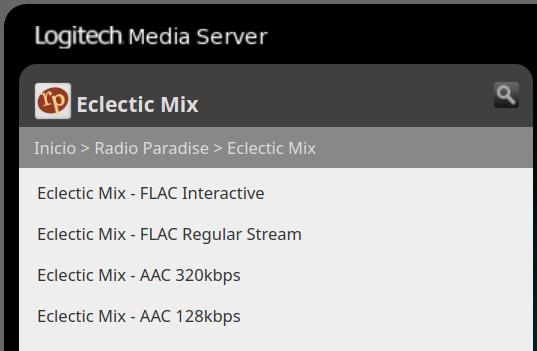 Poniendo al día un tinglado Logitech Media Server Selecc45
