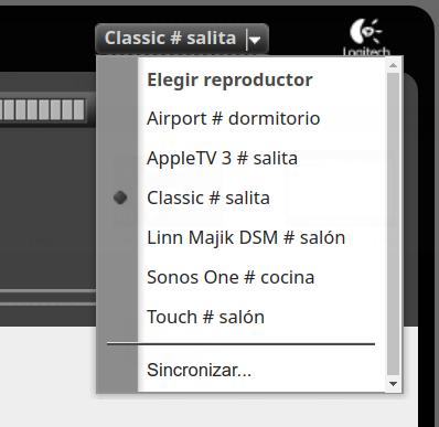Poniendo al día un tinglado Logitech Media Server Selecc52