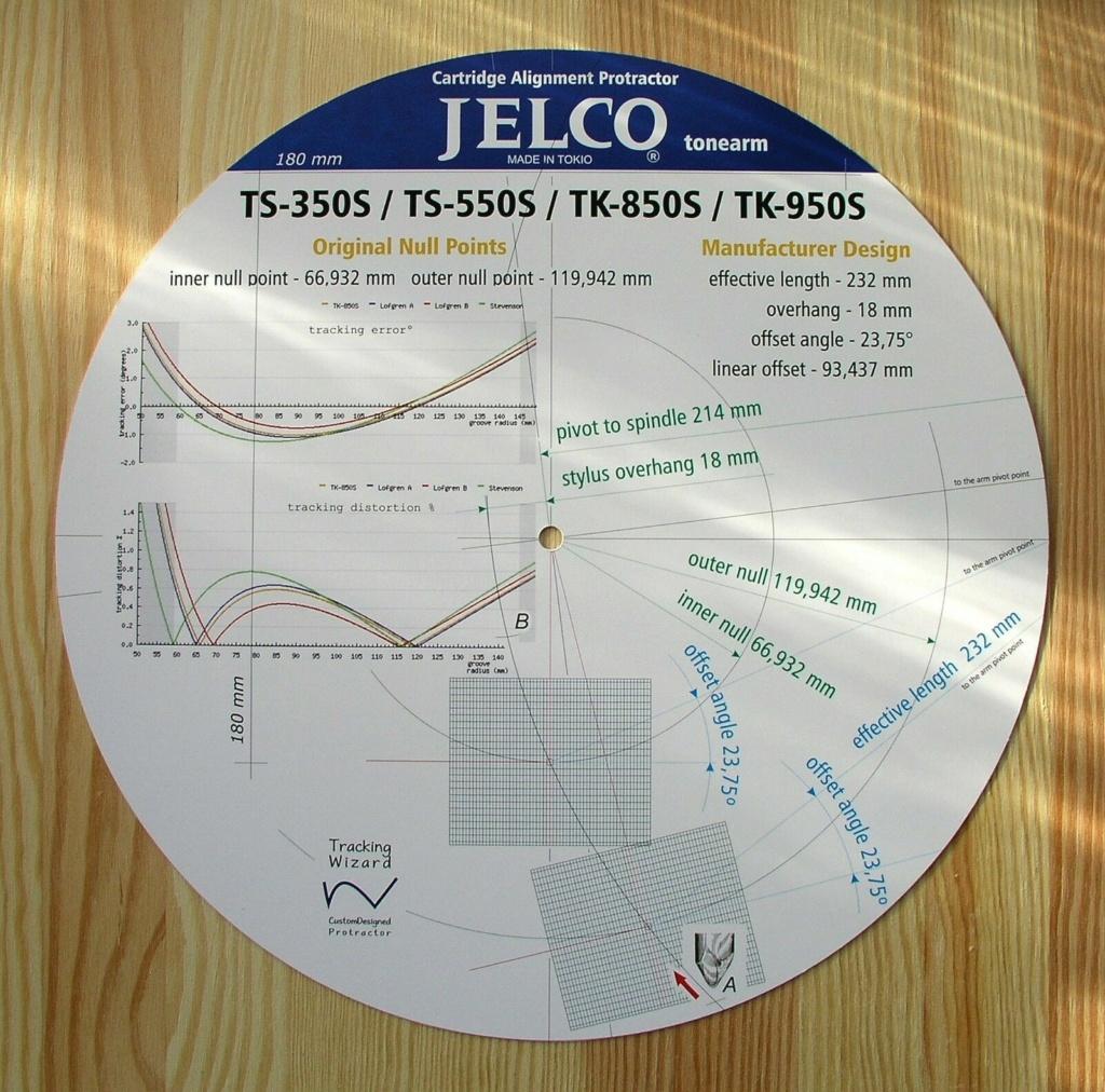 Clearaudio Performance DC + Brazo Jelco TS-550 Jelco510