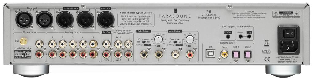 Parasound P5 y P6 P-6-re10