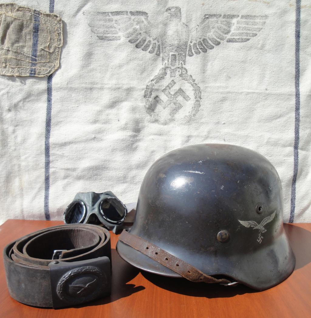 Casque All M35 DD Luftwaffe 1022