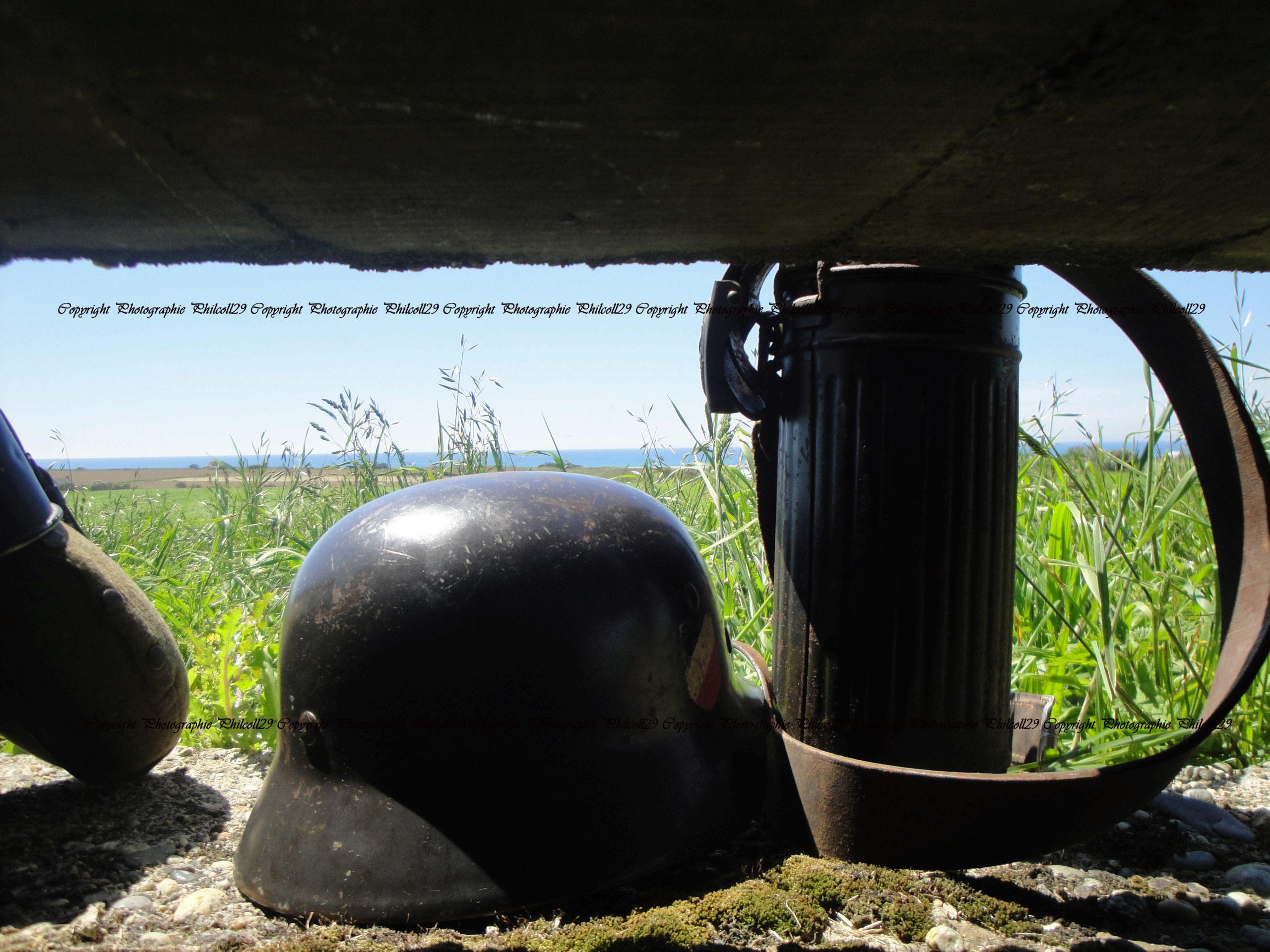 Nature verte Bunker Allemand d'observation  1042