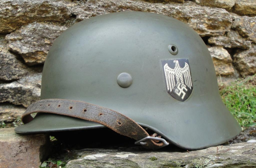 Casque Heer typique de la Wehrmacht 1124