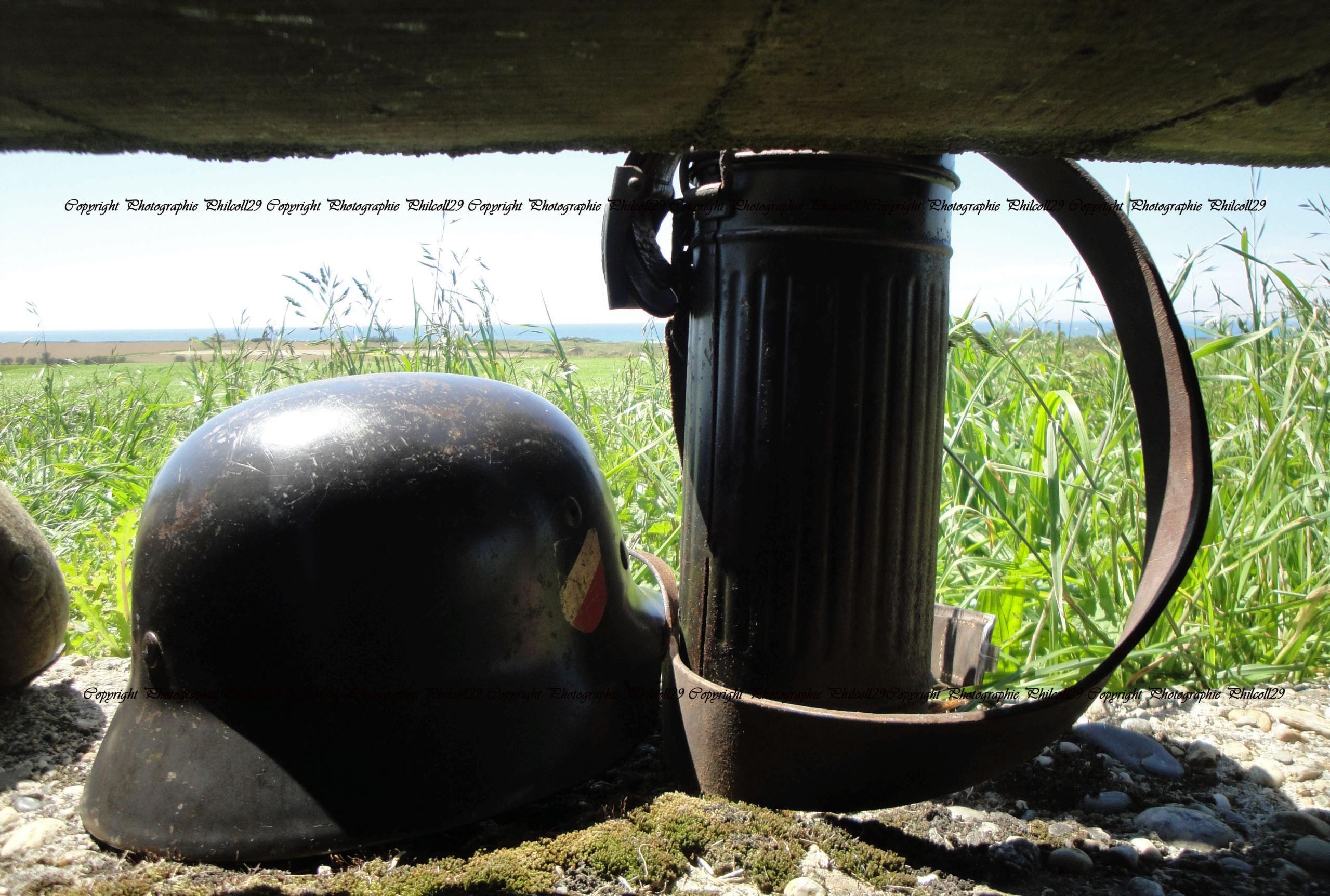Nature verte Bunker Allemand d'observation  1136