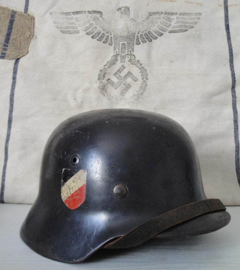 Les casques de la Luftwaffe 114