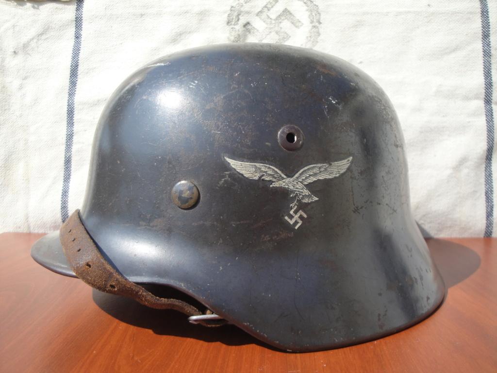 Casque All M35 DD Luftwaffe 1218