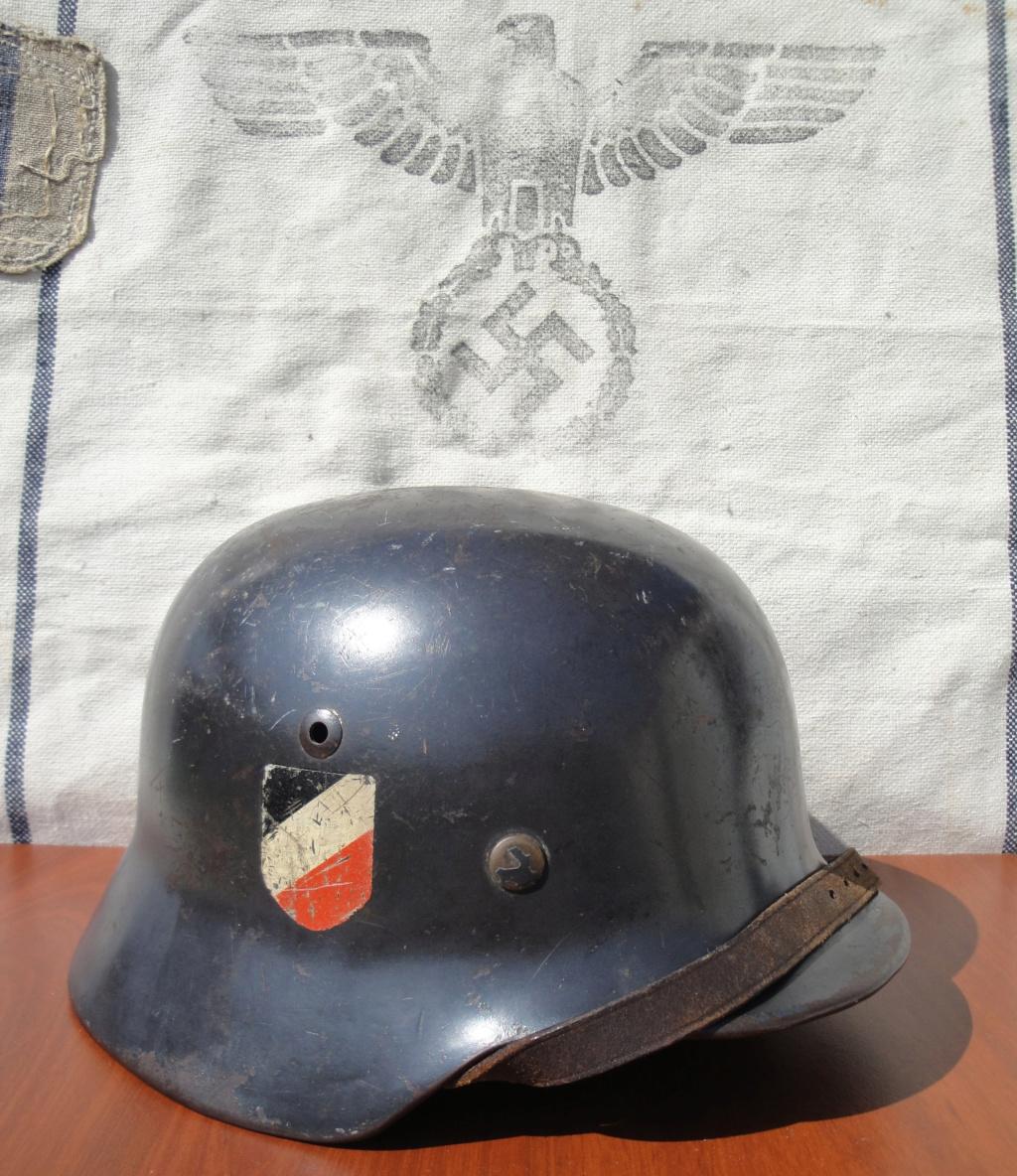 Casque All M35 DD Luftwaffe 128