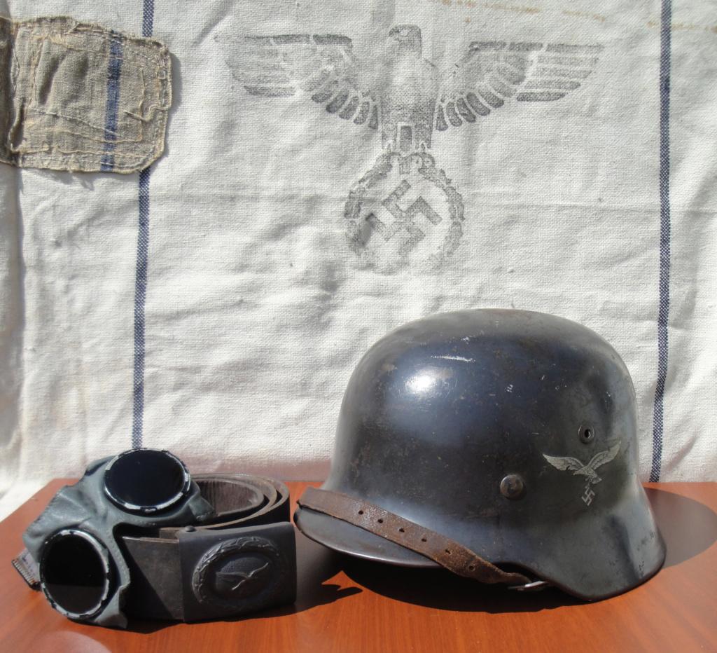 Casque All M35 DD Luftwaffe 1318