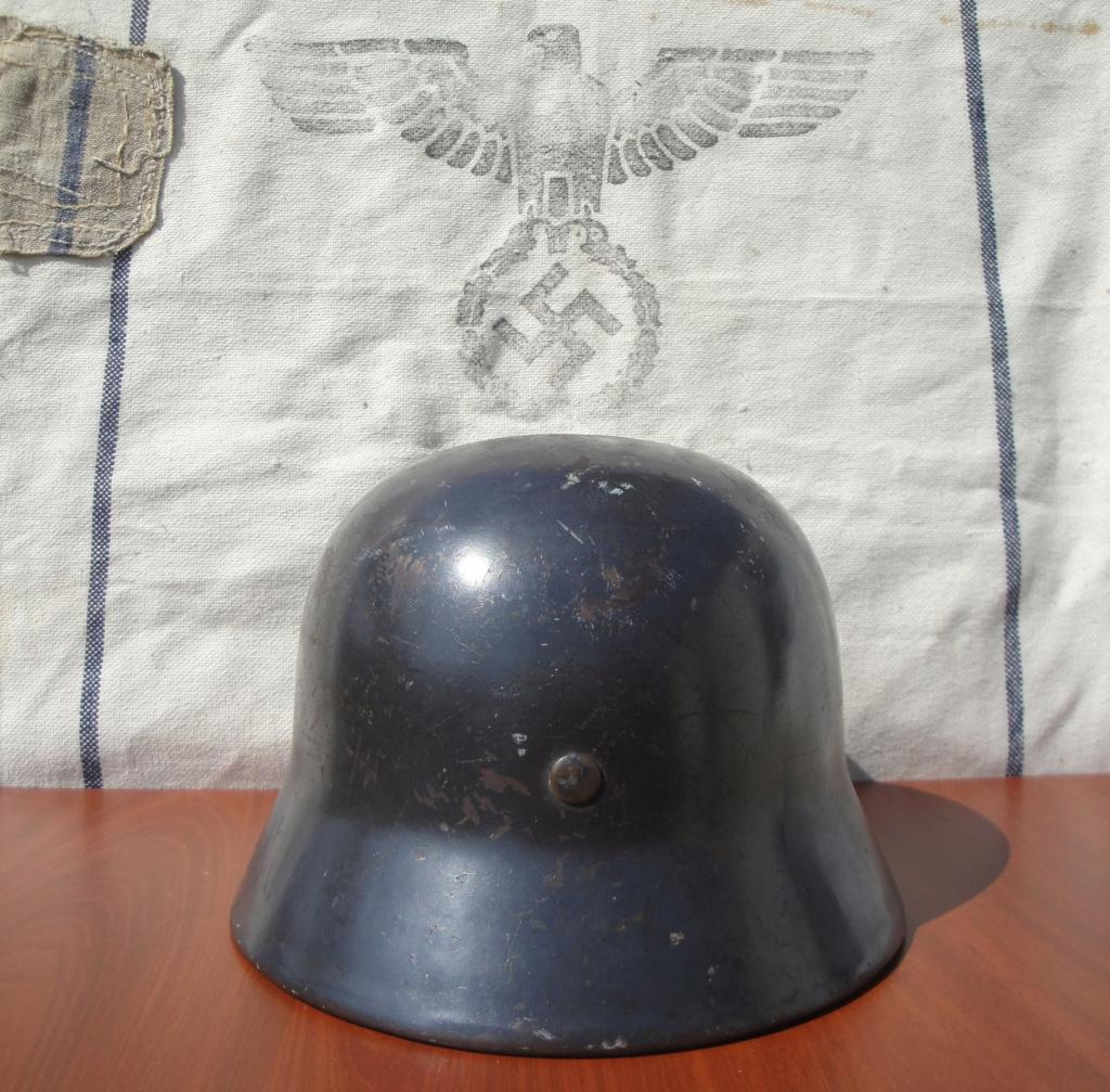 Casque All M35 DD Luftwaffe 1416