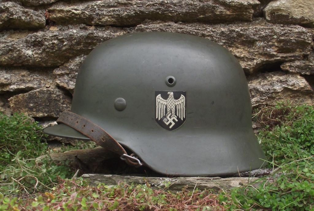 Casque Heer typique de la Wehrmacht 1420