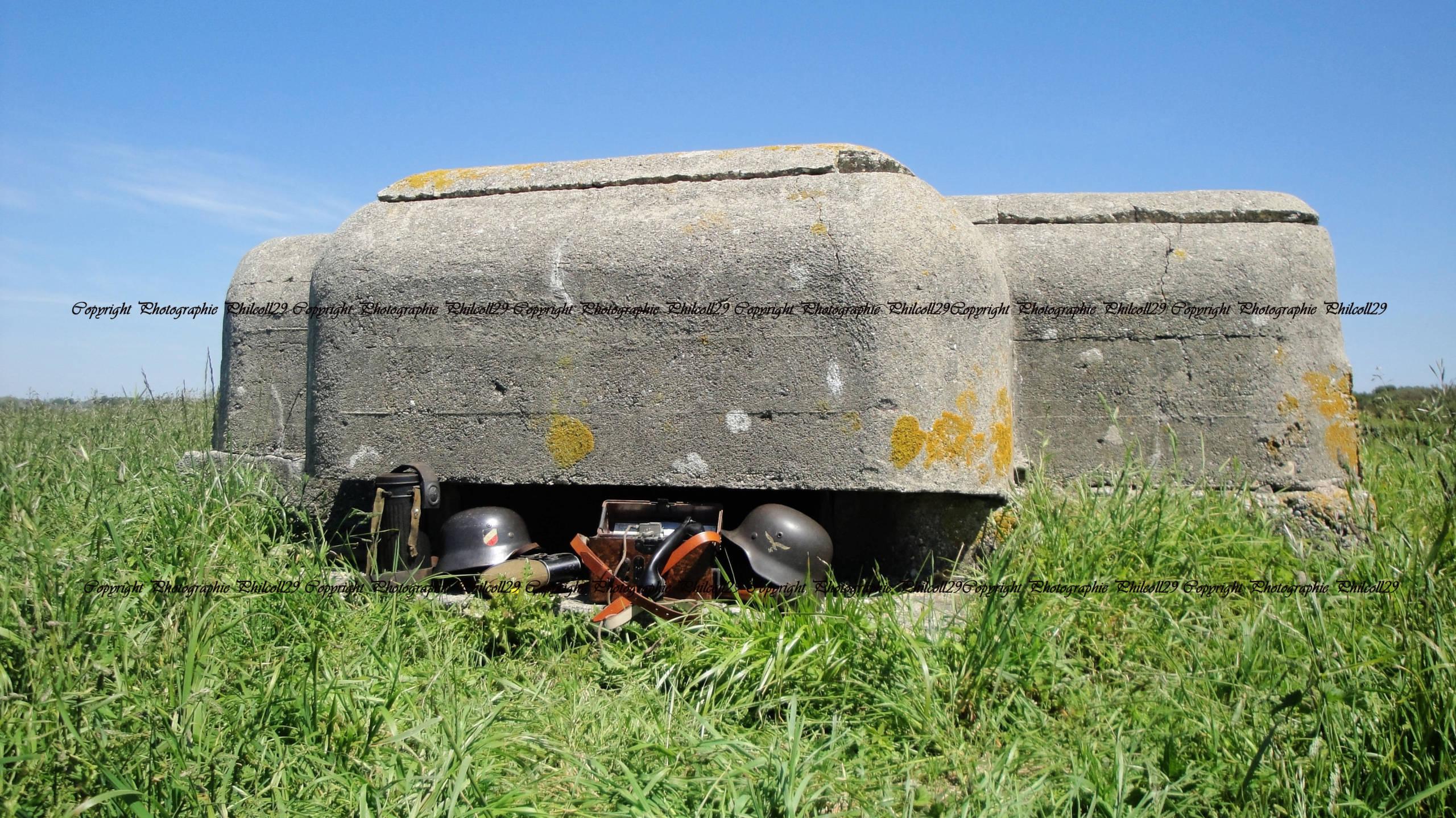 Nature verte Bunker Allemand d'observation  1430