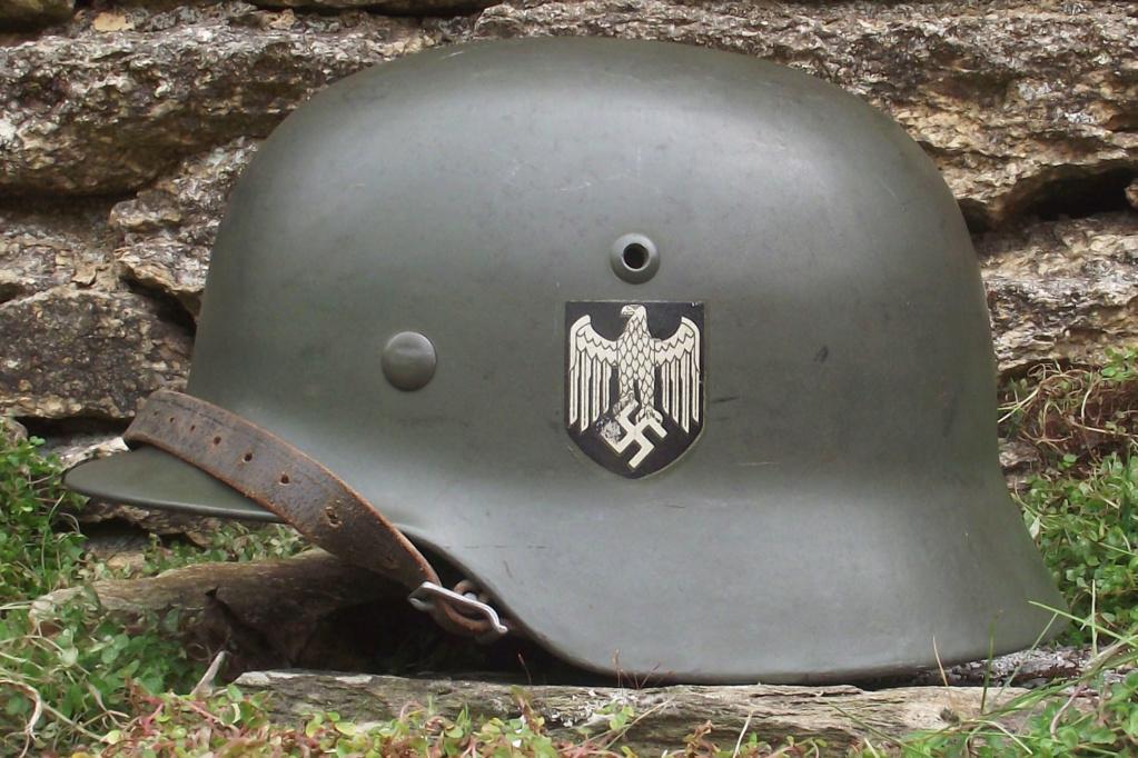 Casque Heer typique de la Wehrmacht 1521