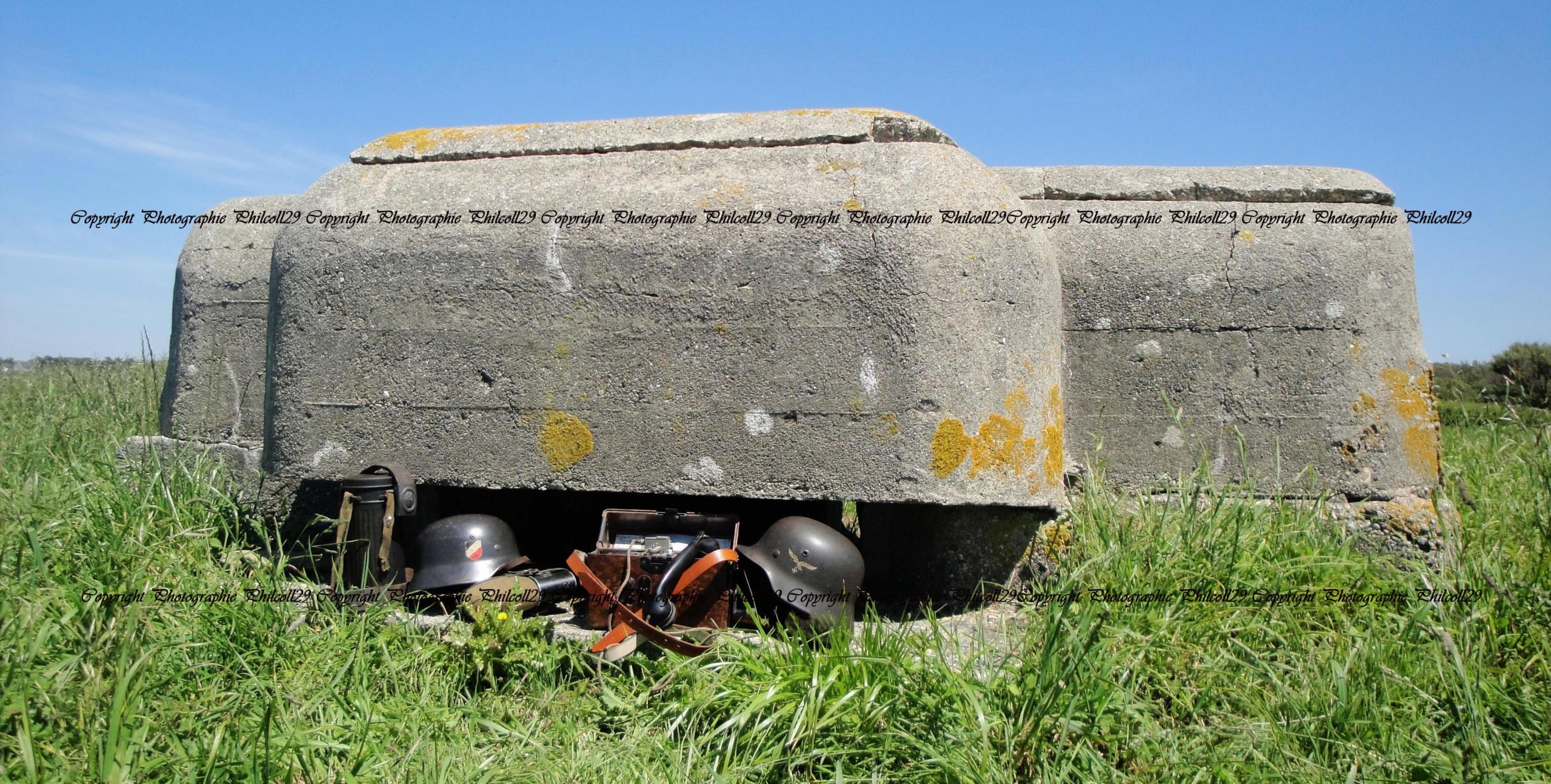 Nature verte Bunker Allemand d'observation  1528