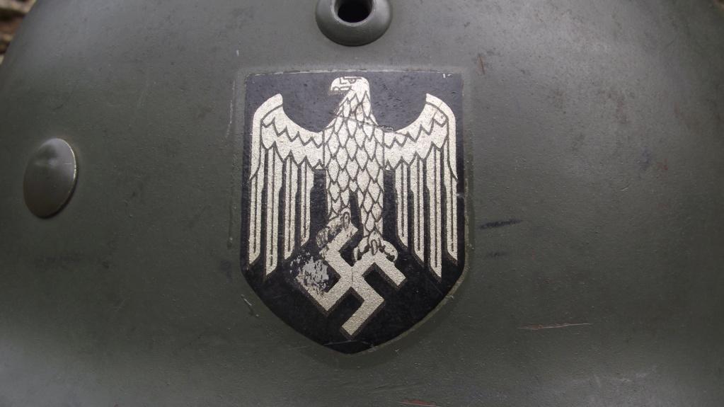 Casque Heer typique de la Wehrmacht 1620