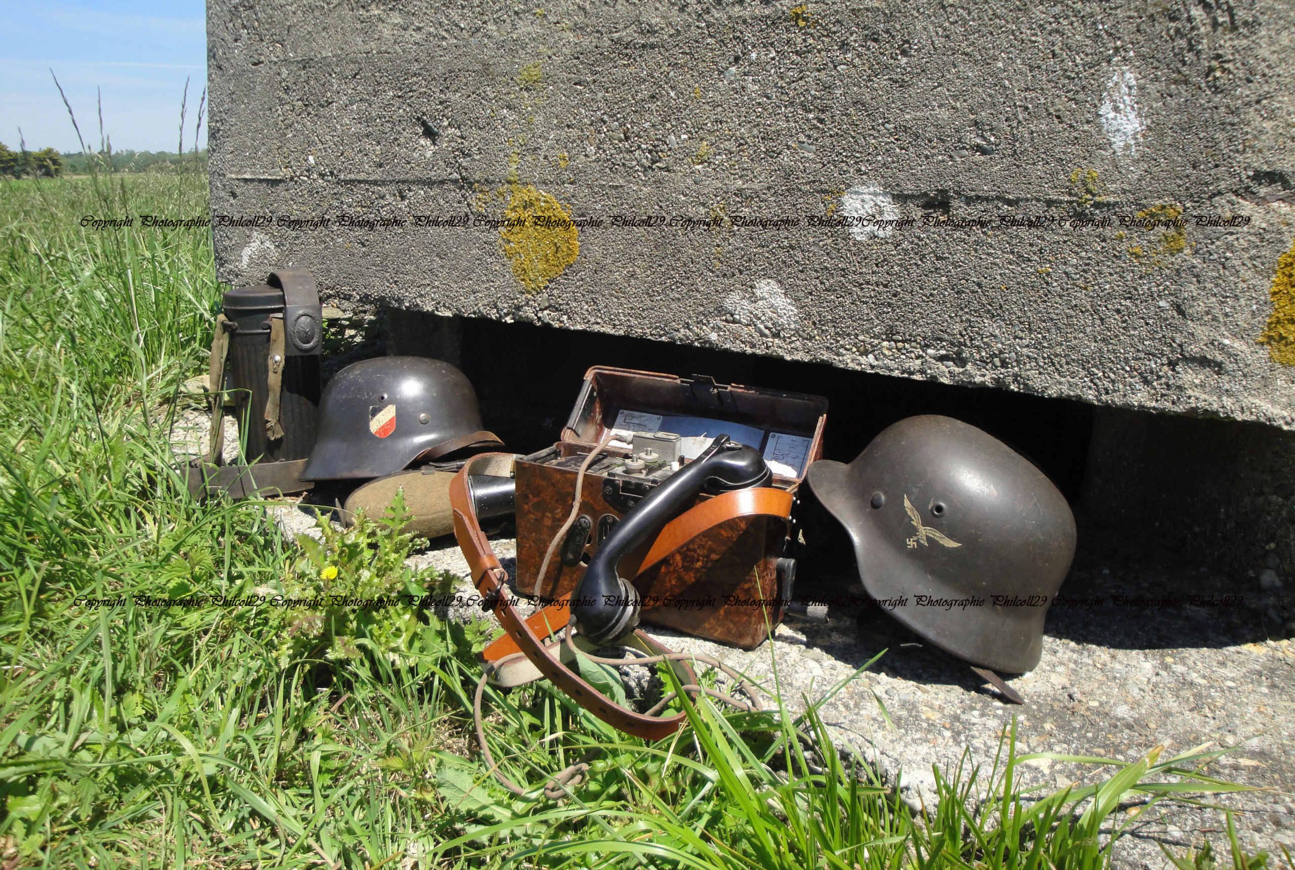 Nature verte Bunker Allemand d'observation  1629