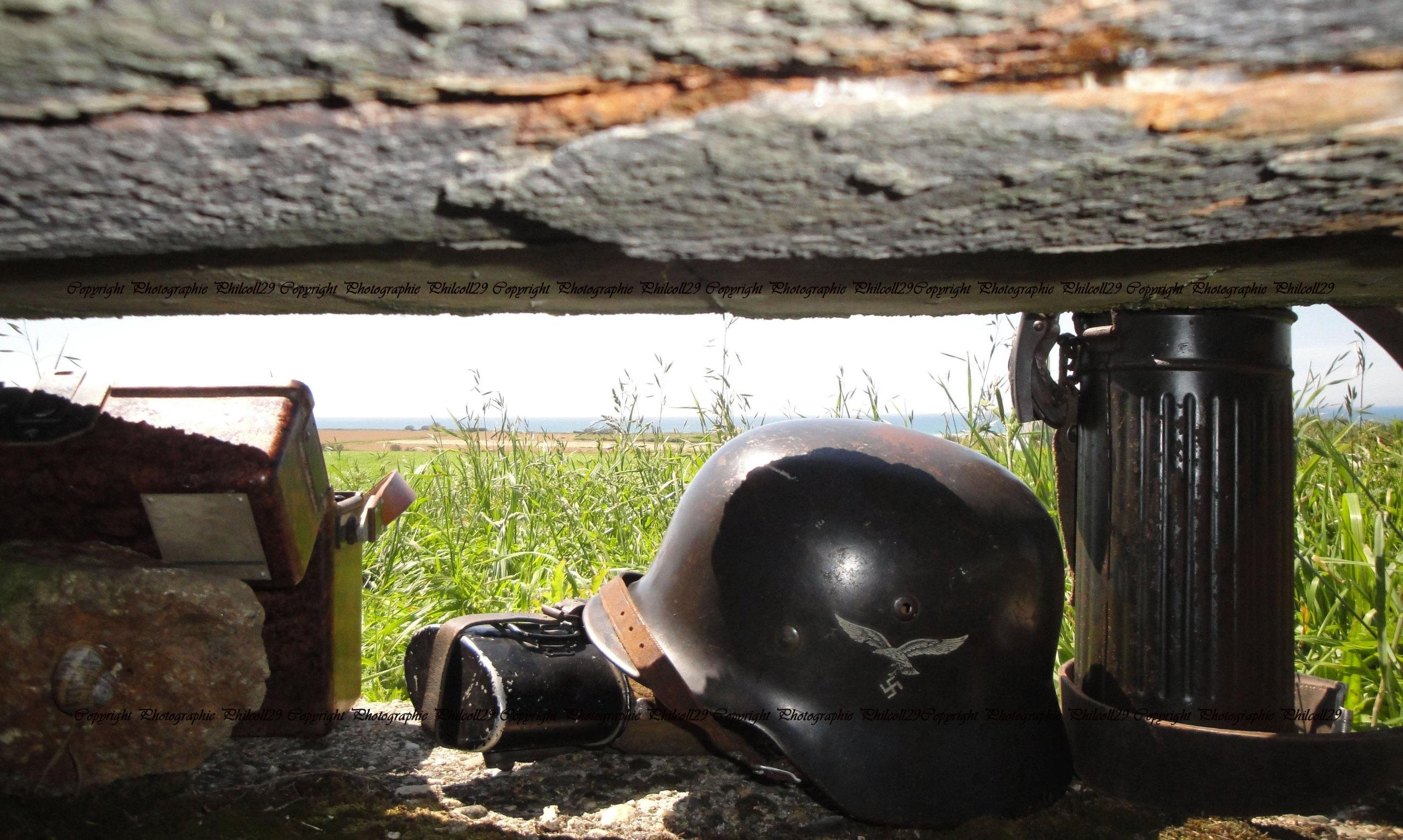 Nature verte Bunker Allemand d'observation  1726