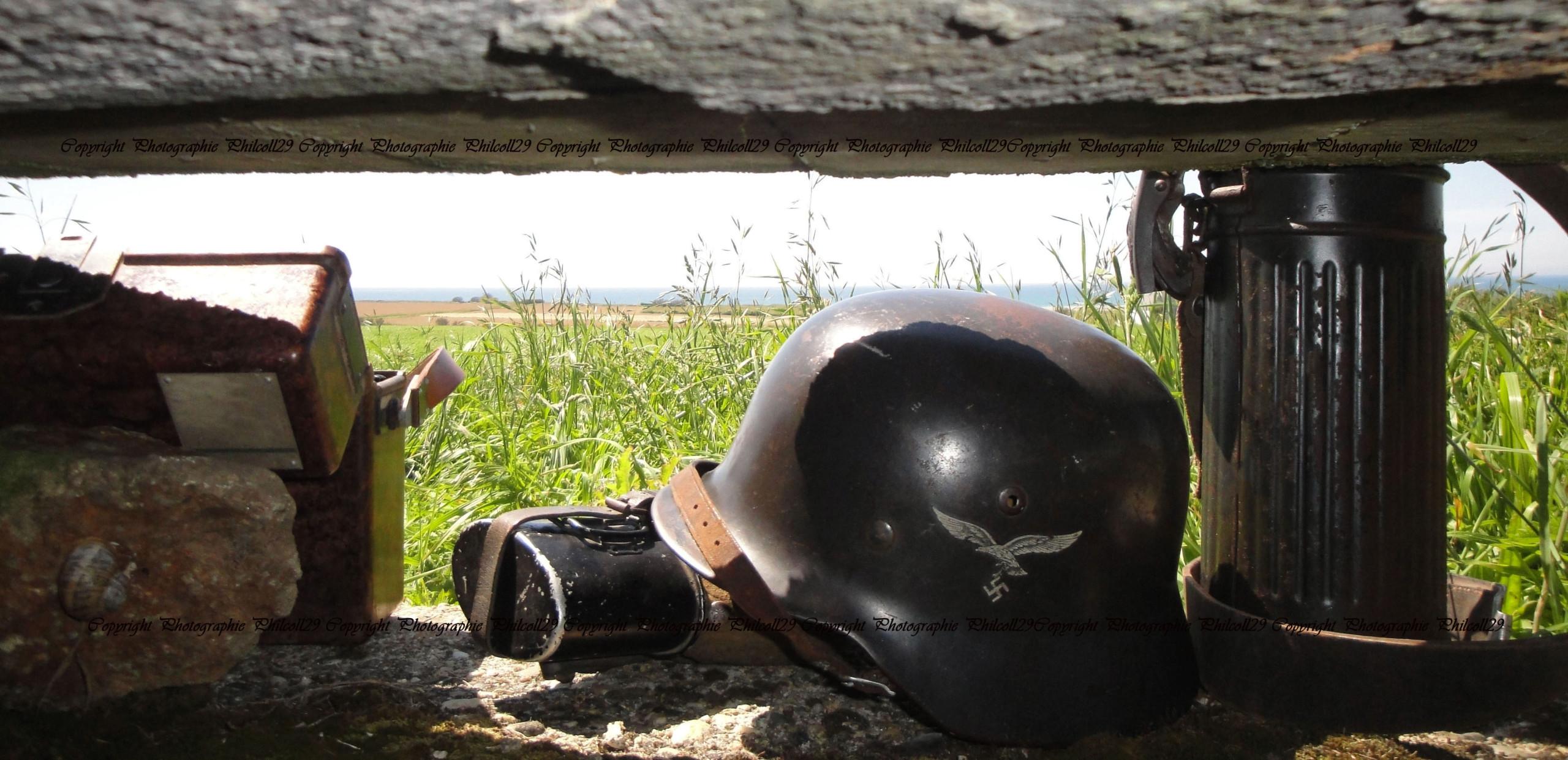 Nature verte Bunker Allemand d'observation  1828