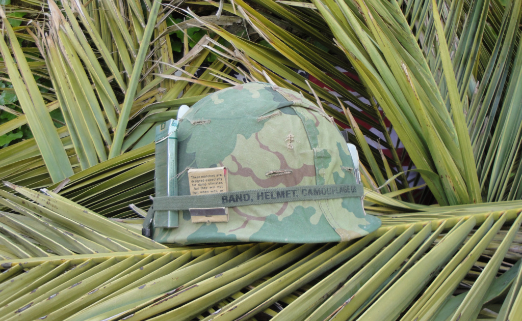 Casque US Vietnam de la 196th infantry brigade 2016