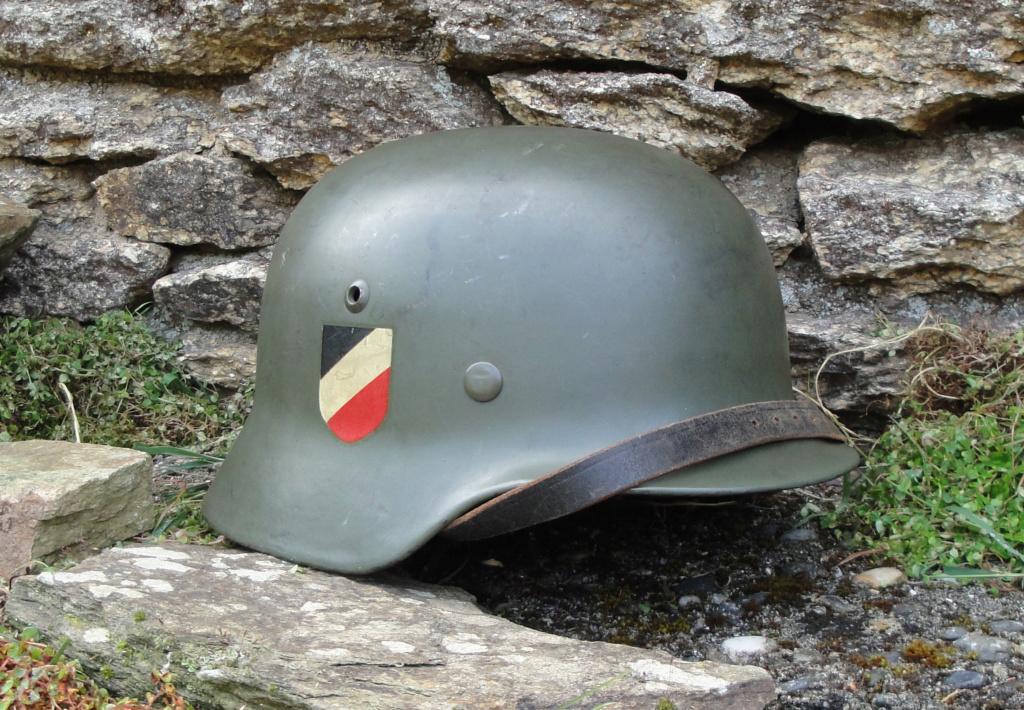 Casque Heer typique de la Wehrmacht 229