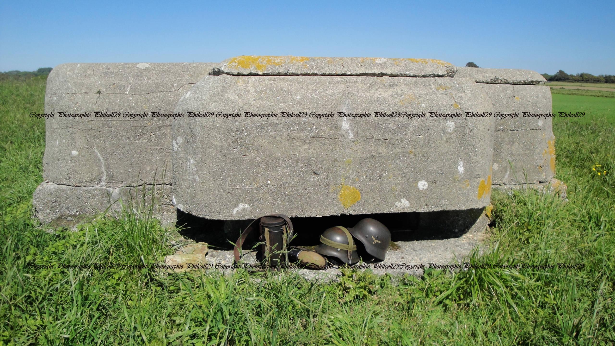 Nature verte Bunker Allemand d'observation  2325