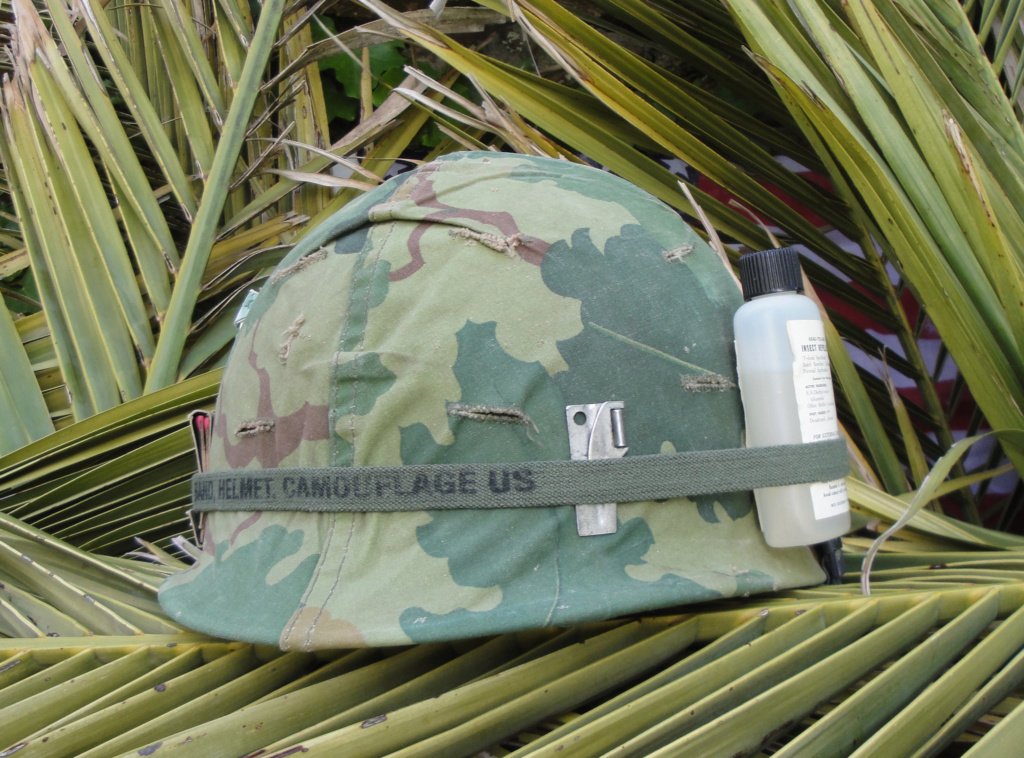 Casque US Vietnam de la 196th infantry brigade 2414