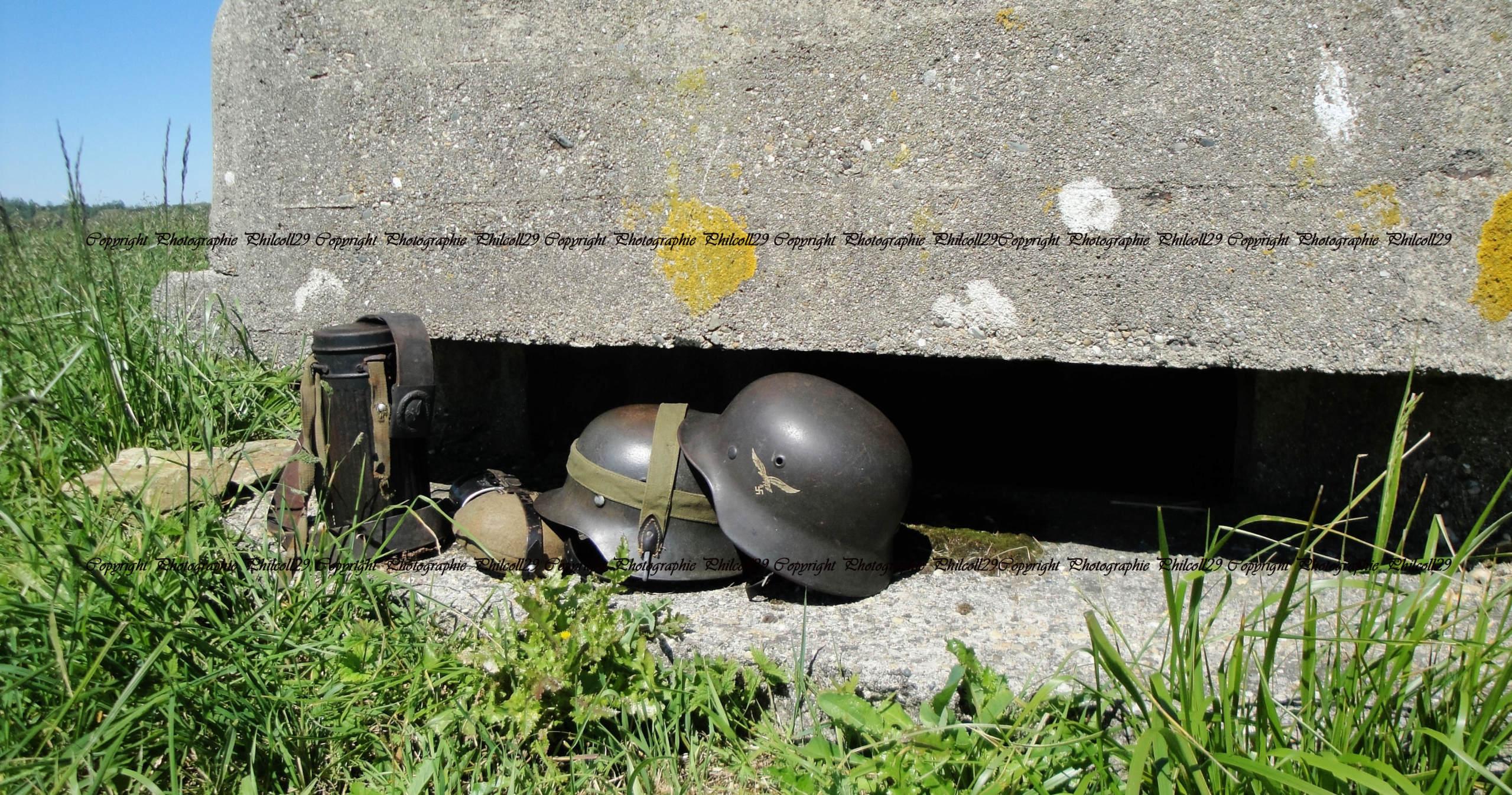 Nature verte Bunker Allemand d'observation  2522