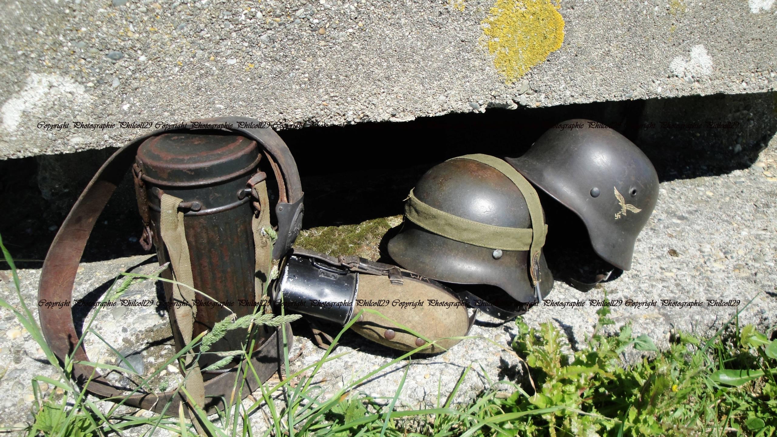 Nature verte Bunker Allemand d'observation  2622