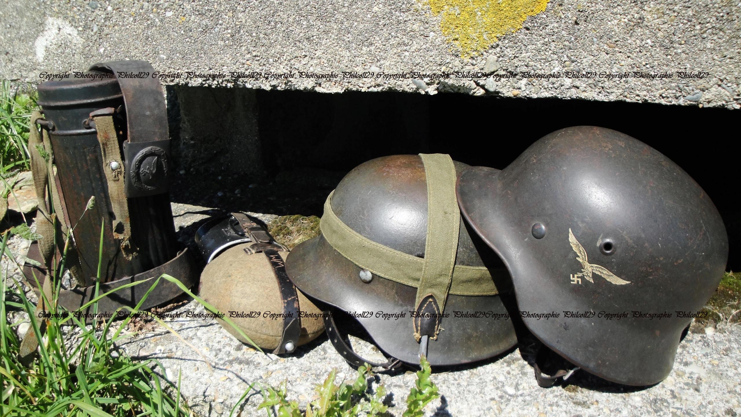 Nature verte Bunker Allemand d'observation  2719