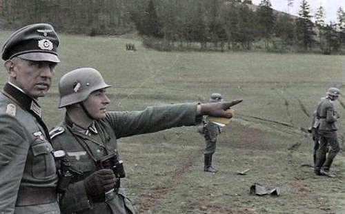 Casque Heer typique de la Wehrmacht 3015