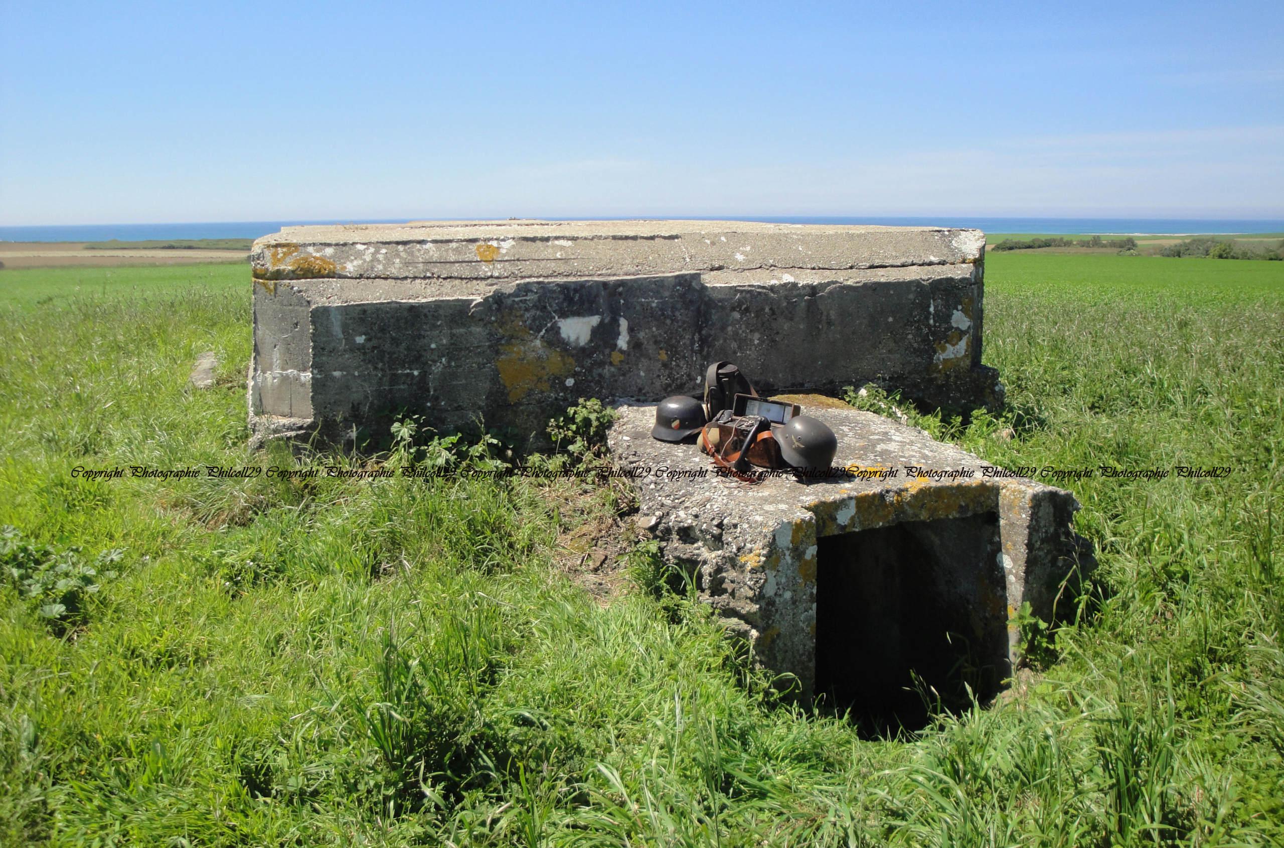 Nature verte Bunker Allemand d'observation  3216