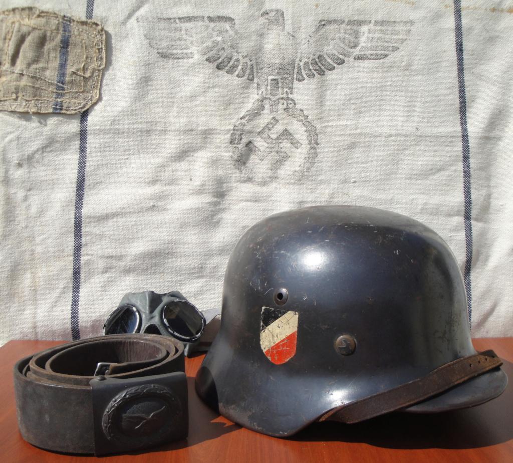Casque All M35 DD Luftwaffe 323