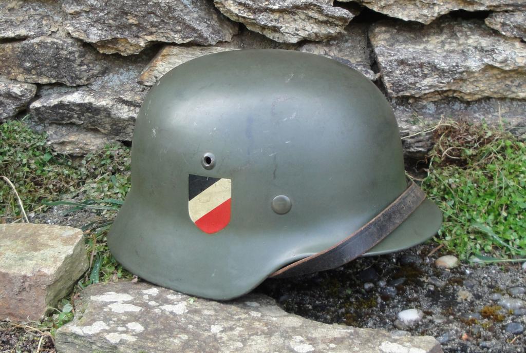 Casque Heer typique de la Wehrmacht 326