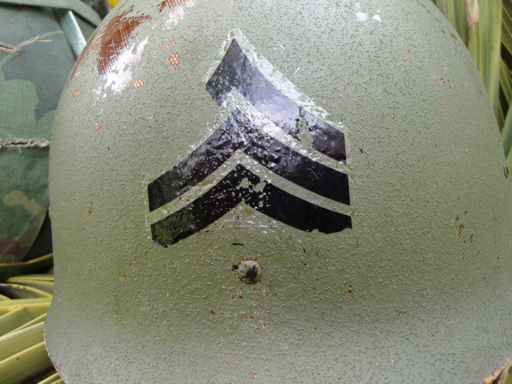 Casque US Vietnam de la 196th infantry brigade 3310
