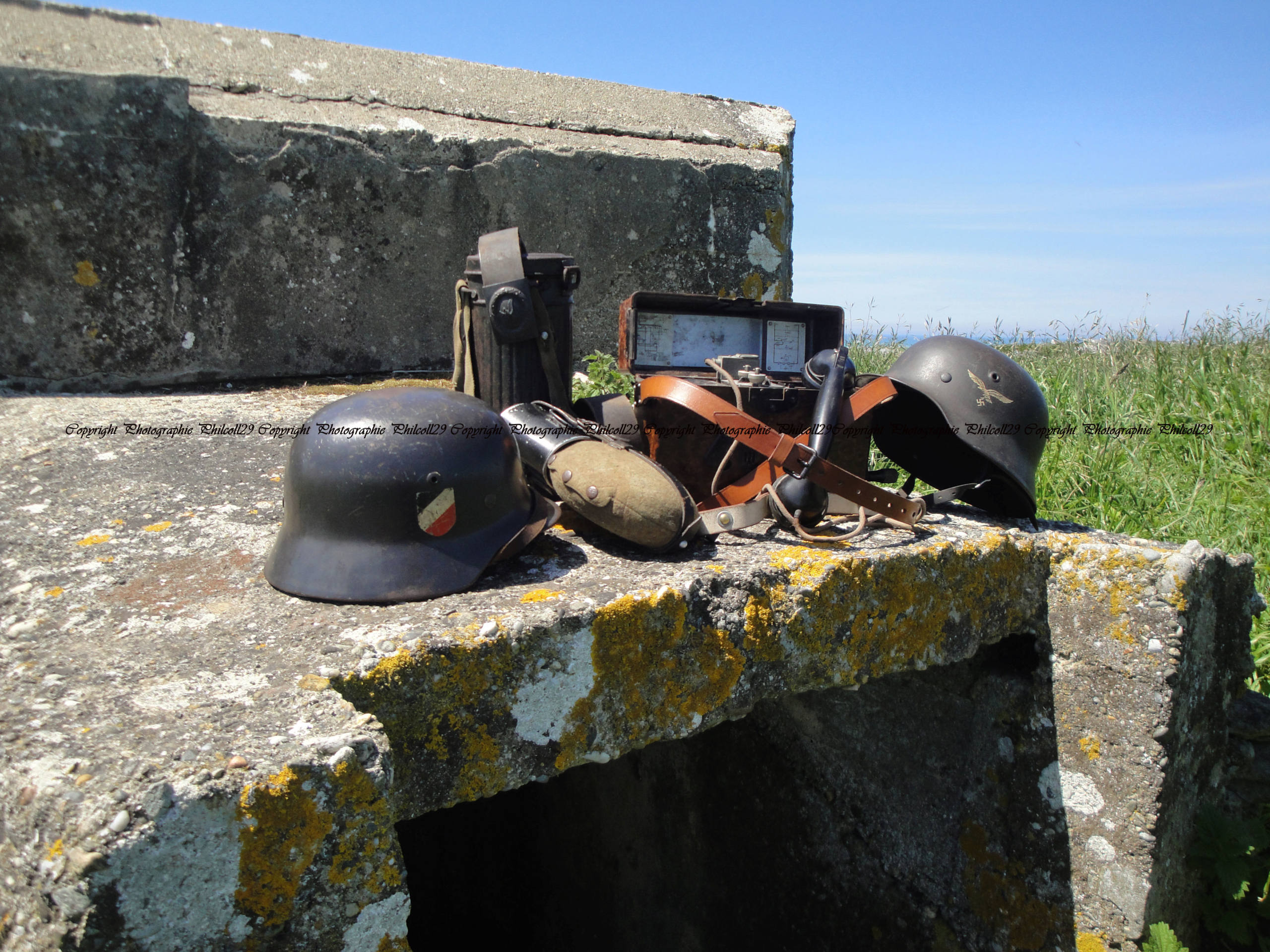 Nature verte Bunker Allemand d'observation  3412