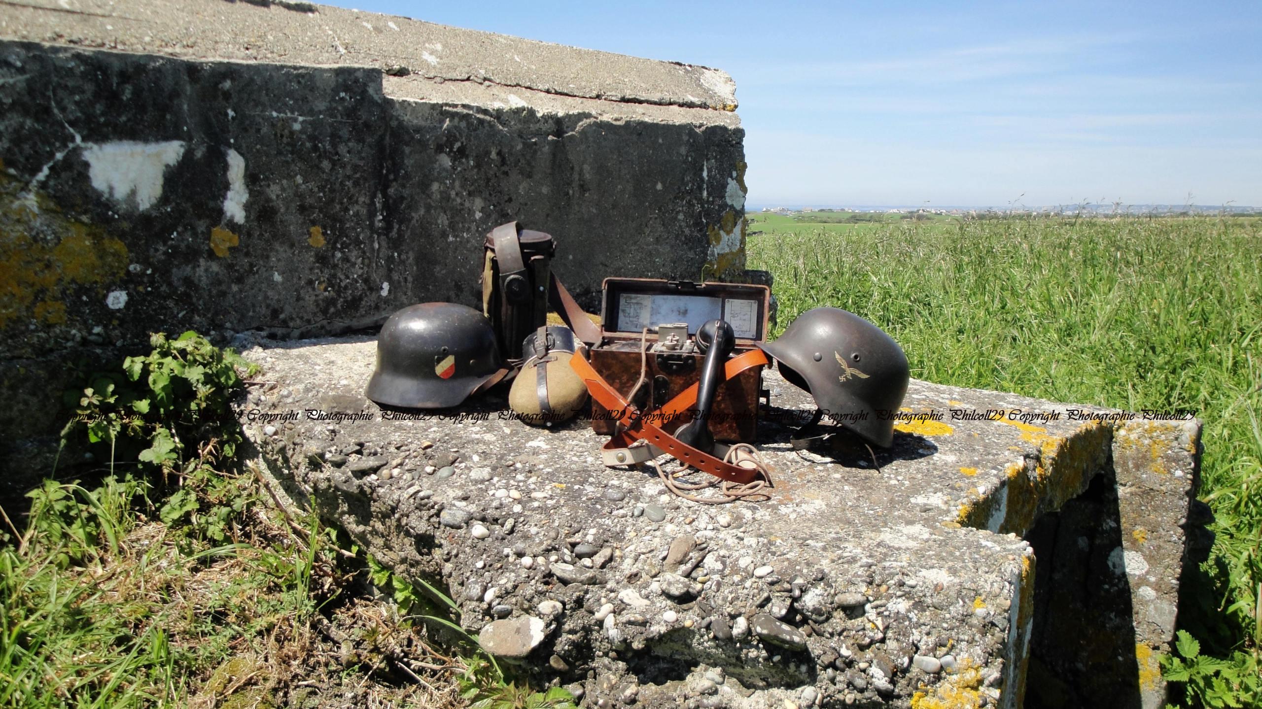 Nature verte Bunker Allemand d'observation  3513