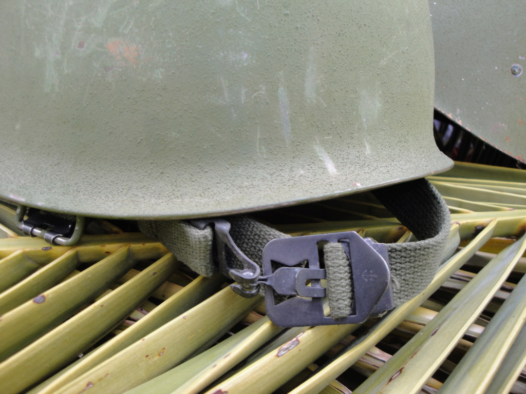 Casque US Vietnam de la 196th infantry brigade 4110