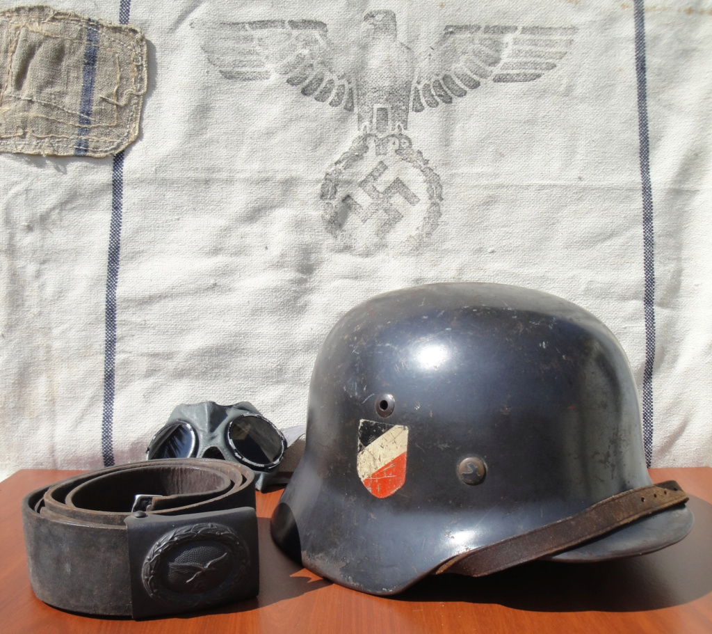 Casque All M35 DD Luftwaffe 424