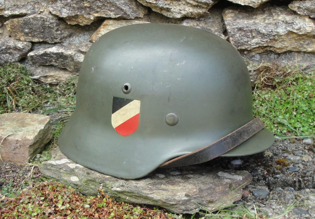 Casque Heer typique de la Wehrmacht 427