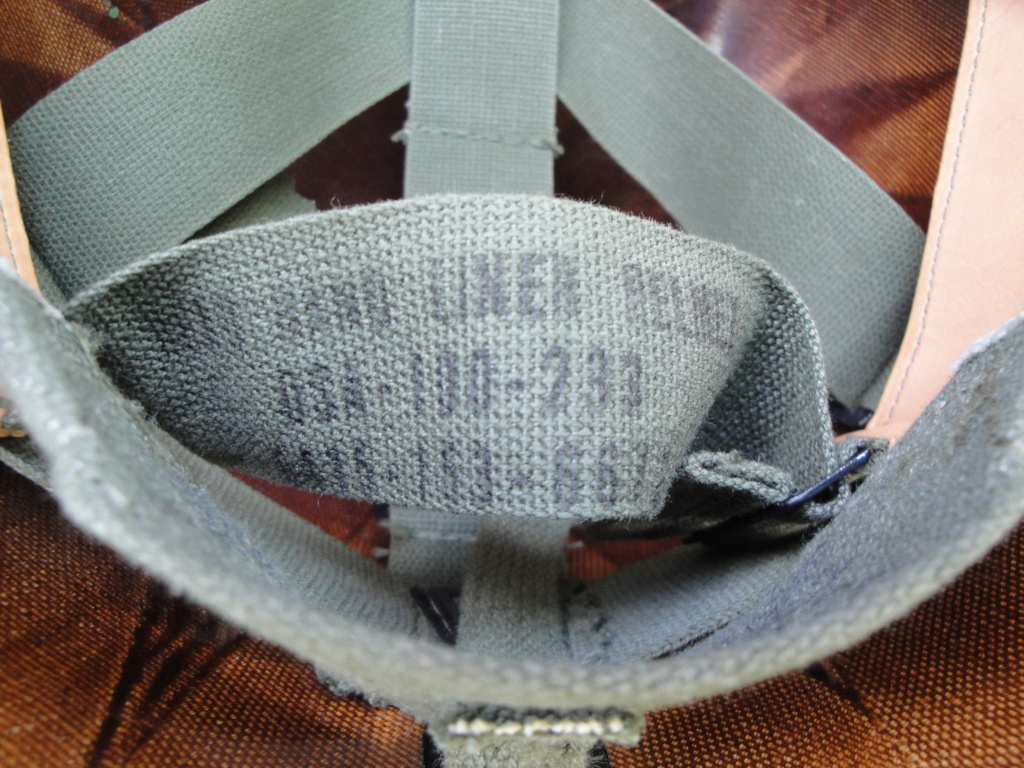 Casque US Vietnam de la 196th infantry brigade 4410