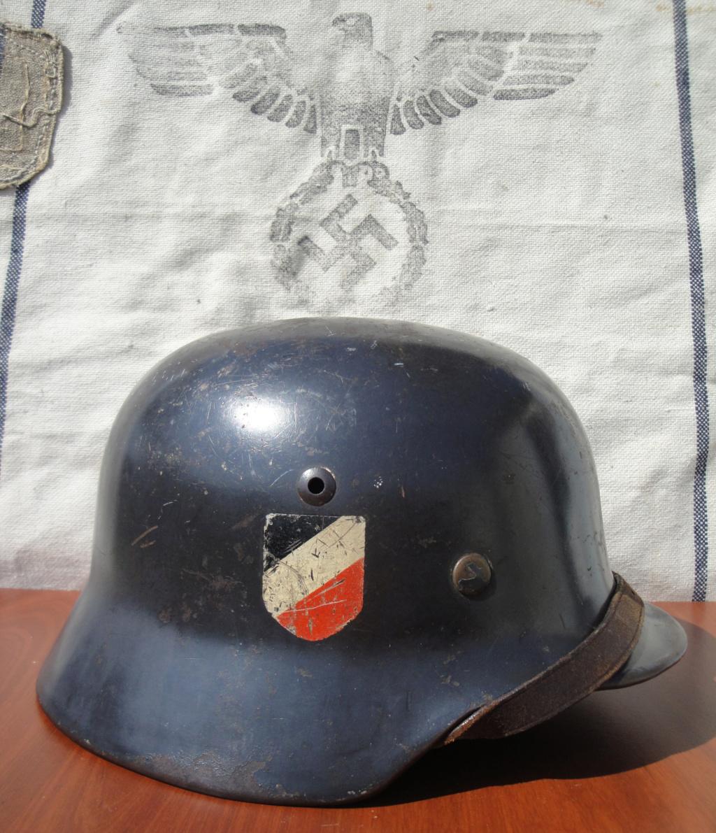 Casque All M35 DD Luftwaffe 525