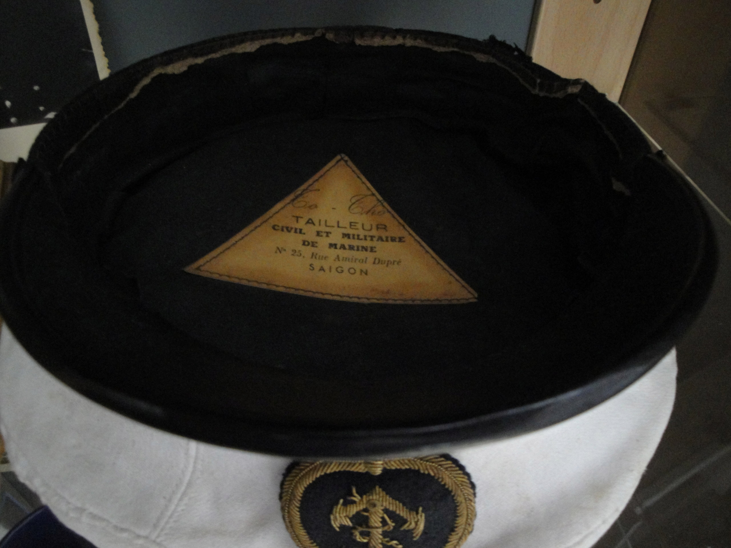 Ma Première,et certainement plus importante casquette de mon existence 739