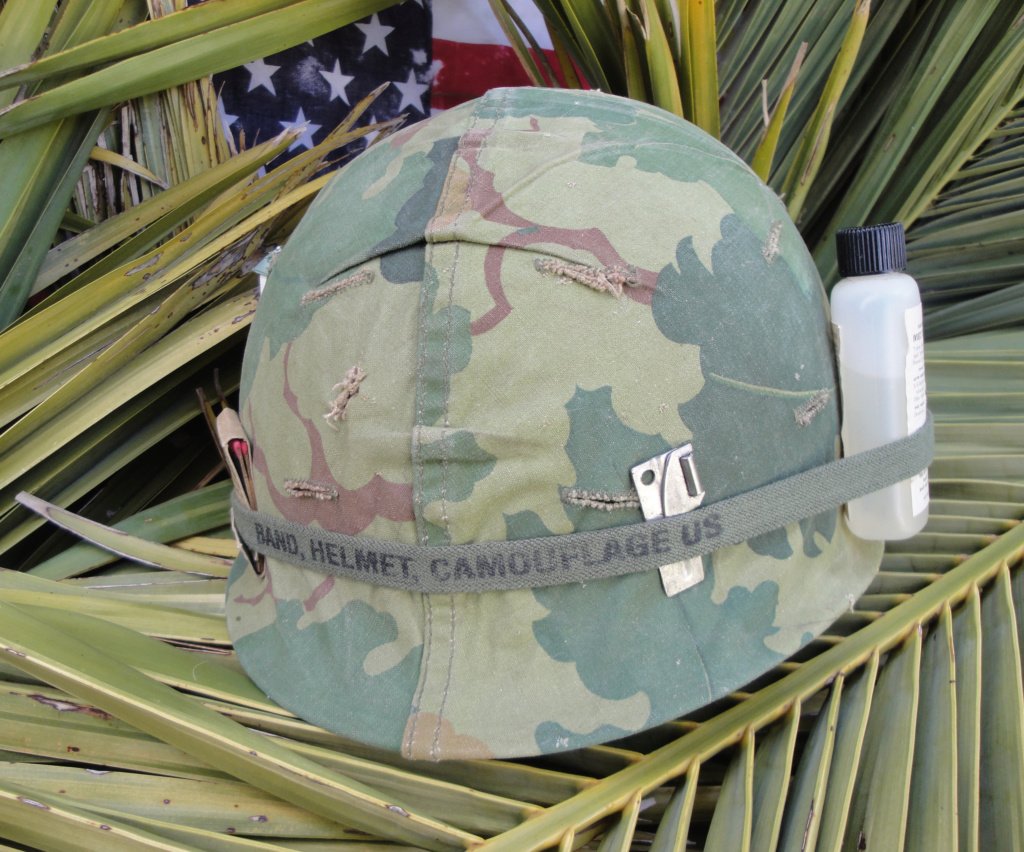 Casque US Vietnam de la 196th infantry brigade 820
