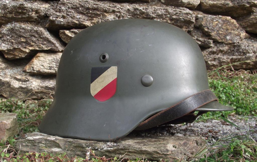 Casque Heer typique de la Wehrmacht 822