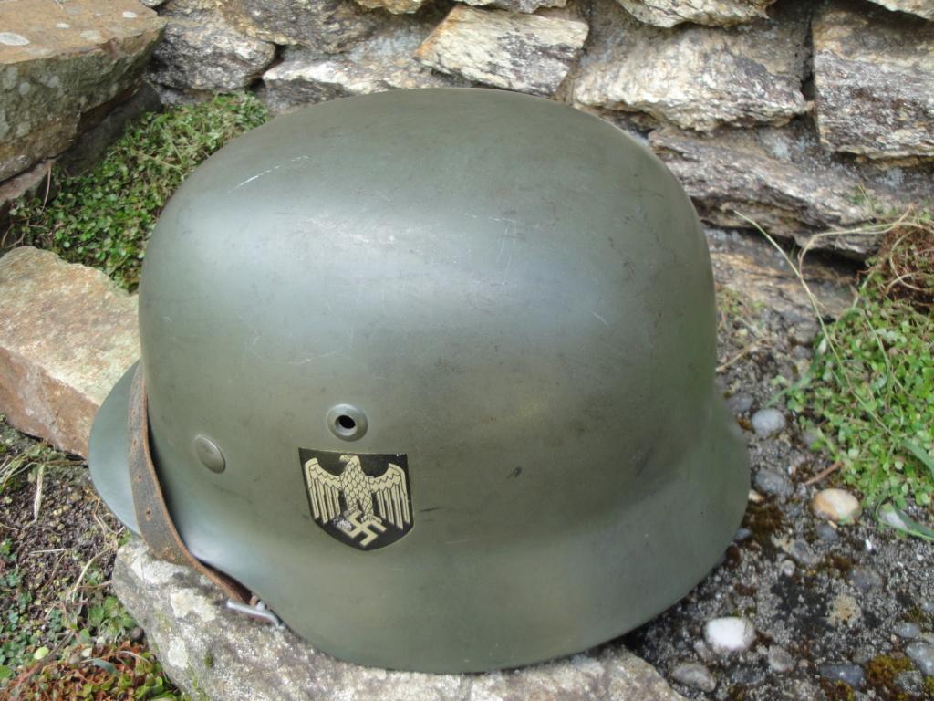 Casque Heer typique de la Wehrmacht 923