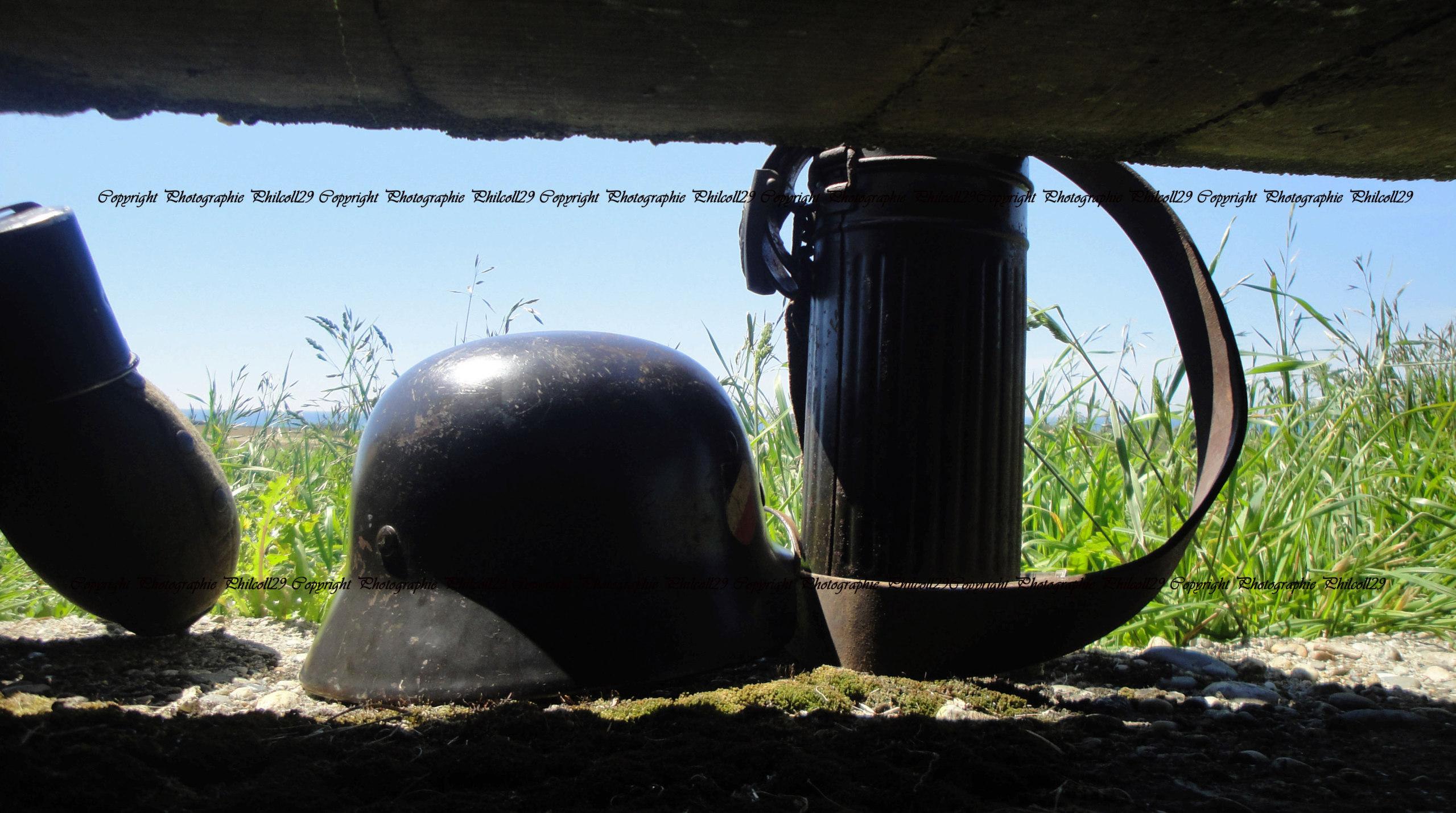 Nature verte Bunker Allemand d'observation  937