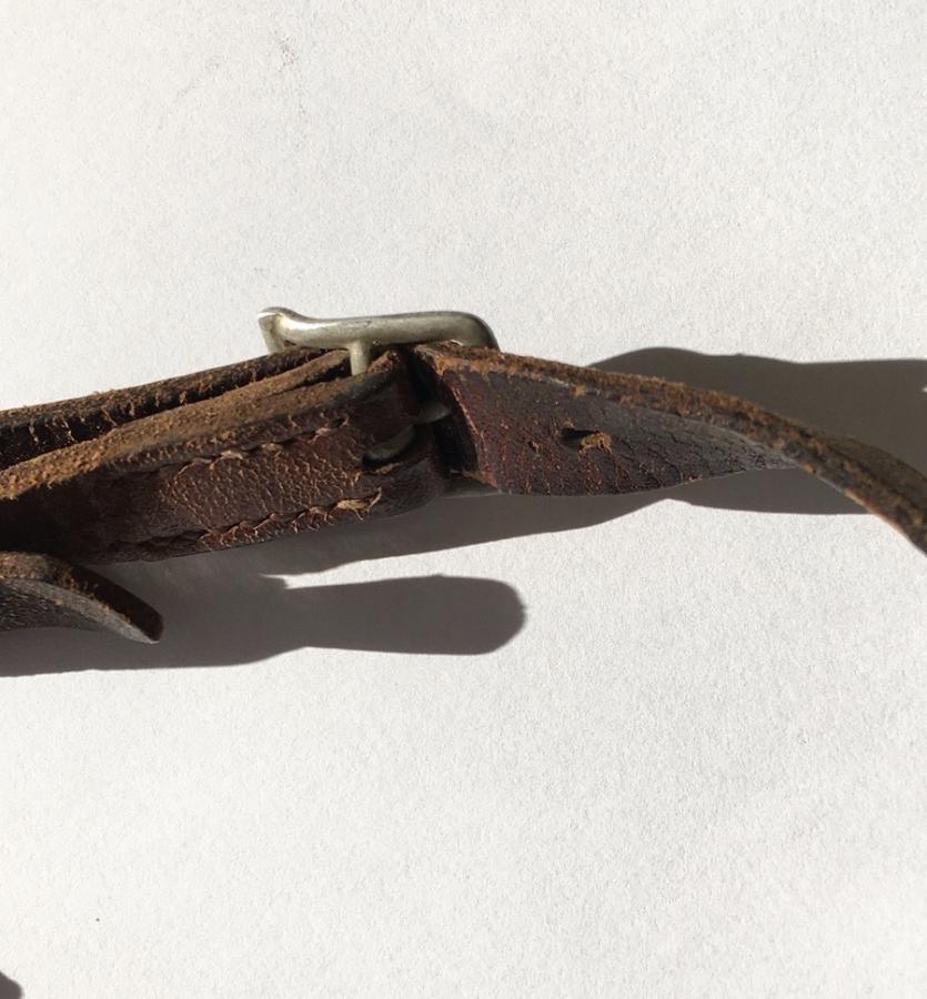 Jugulaire casque allemand seconde guerre  De26a210