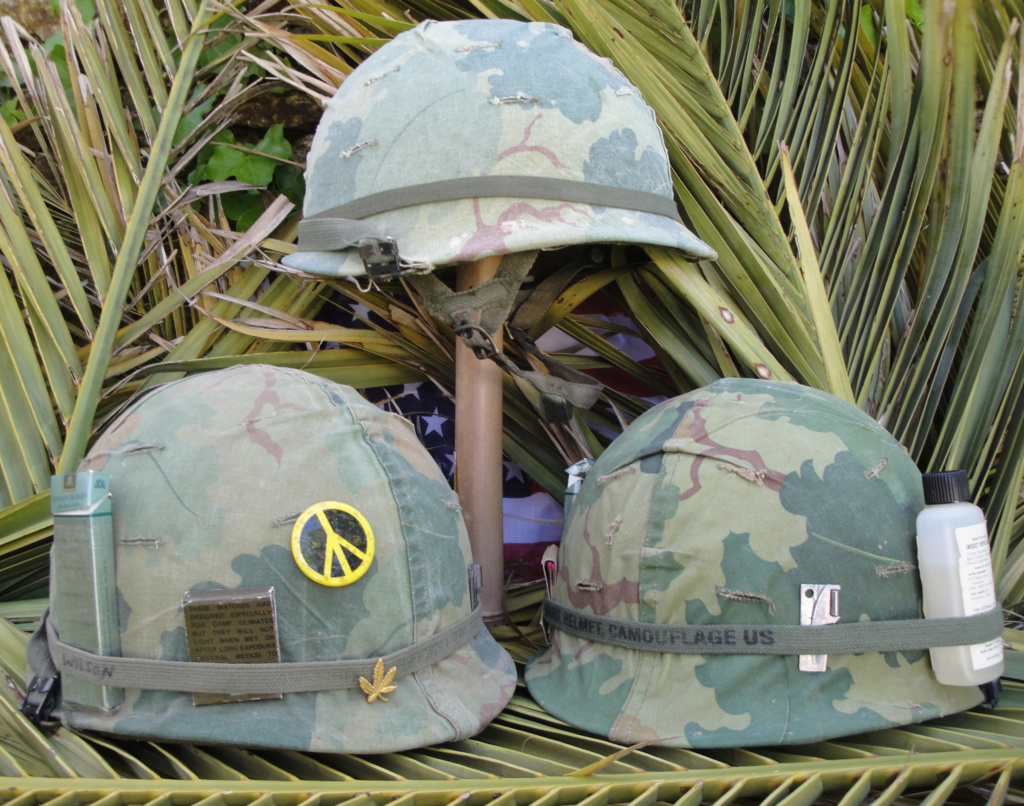 Casque US Vietnam de la 196th infantry brigade Dsc06910