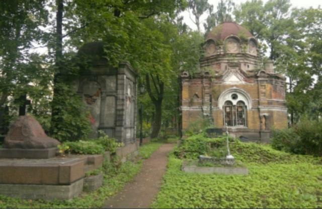 Никольское кладбище и нечисть в образе кота Scree100