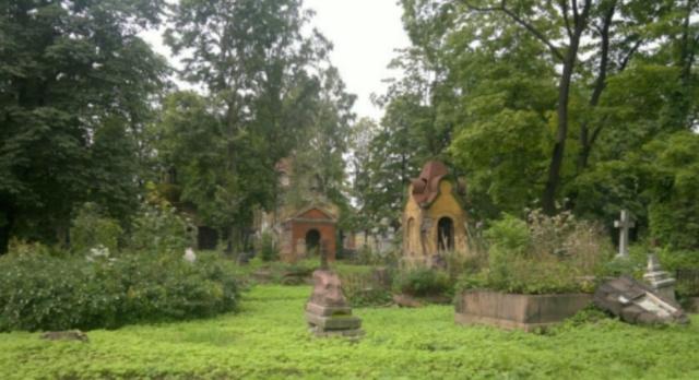 Никольское кладбище и нечисть в образе кота Scree101
